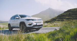 The new Jeep Compass in the wilds of Kerry