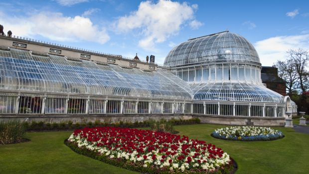 The Palm House, in Belfast's Botanic Gardens, is one of the earliest examples of a curvilinear and cast iron glasshouse.