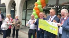 'It's the stuff of dreams': EuroMillions syndicate collect their winnings