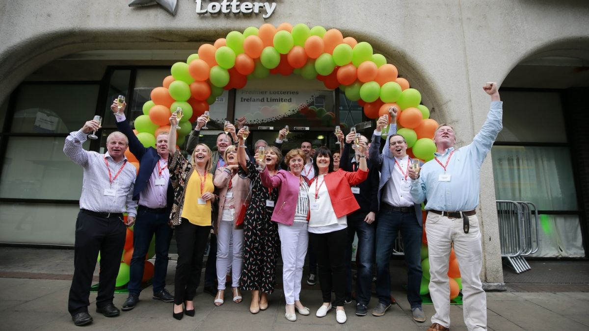€17m lottery jackpot winners planning to 'shop locally'