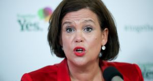 Speculation when Mary Lou McDonald took over as Sinn Féin leader that divisions between the Northern and Southern wings of the party would quickly develop do not seem to have materialised. Photograph: Maxwells