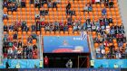 A  view of empty seats during the Group A match between Egypt and Uruguay at   the  Ekaterinburg Arena. Photograph: Darren Staples/Reuters