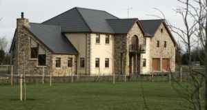 The house built by the Murrays at Faughan Hill, Bohermeen, Co Meath. Photograph: Dara Mac Dónaill/The Irish Times