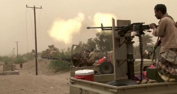 Yemen rebels fighting to retain port city strong point