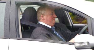 Bill Kenneally driving near Waterford Court in late 2015. File photograph: Patrick Browne