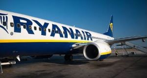 A group of drunken Irish-based holidaymakers forced an Ibiza-bound Ryanair flight from Dublin to divert to Paris on Saturday morning. File photograph: Getty Images