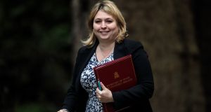 Northern Secretary Karen Bradley arrives for a Cabinet meeting chaired by British prime minister Theresa May at No 10 Downing Street earlier this month in London. File photograph: Jack Taylor/Getty Images