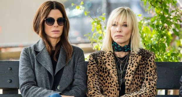 Men shouldn't review 'Ocean's 8'? Wrong, Cate Blanchett