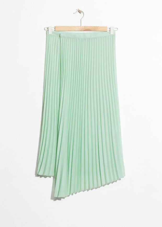 Pleated skirt, €79, + Other Stories