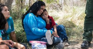 Border crossers are delivered 'into a child's nightmare and a parent's hell'. Photograph: Lynsey Addario/New York Times