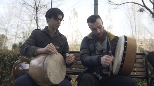 Ruairi Glasheen talked to and filmed these drummers in Iran