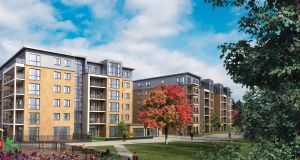 Bridgefield apartments: for sale as a single private investment in expectation it will be bought by an overseas fund.