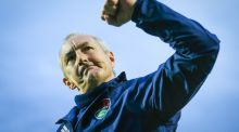 John Caulfield's Cork City will learn their Champions League fate on Tuesday. Photograph: Oisin Keniry/Inpho