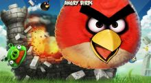 Junior Cert technical graphics students were faced with a question on Angry Birds.
