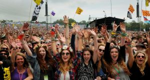 The poll showed 22% of all people who have been to a festival in the UK faced some kind of unwanted sexual behaviour, rising  to 43% among women under 40. File  photograph: Anthony Devlin/PA Wire