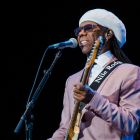 Chic featuring Nile Rodgers: unashamed about the nostalgia factor. Photograph:  Carrie Davenport/Redferns