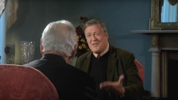 The blasphemy law came to prominence when Stephen Fry made critical comments about God during an interview on RTÉ's 'Meaning of Life' programme. Photograph: RTÉ