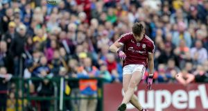 Shane Walsh: was the one Galway player who was exceptional all through the game against Roscommon. Photograph: Laszo Geczo/Inpho
