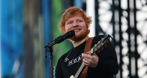 Ed Sheeran concert in the Phoenix Park, Dublin on May 16th. Photograph: Nick Bradshaw