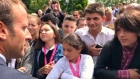 'Address me as Mr President', Macron scolds teenager