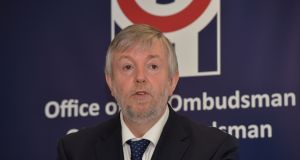 Ombudsman Peter Tyndall has expressed frustration at the Government's failure to introduce legislation to assist people with disabilities on low incomes to access transport. Photograph: Alan Betson/The Irish Times