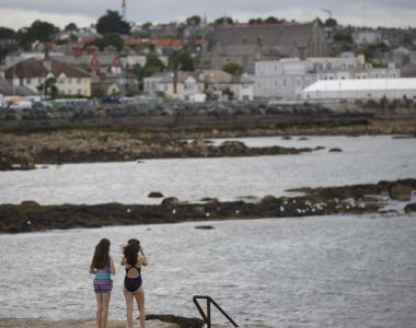 The Forty Foot in Sandycove is a Dublin institution. Photograph: Pablo Blazquez Dominguez/Getty Images