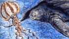 For a leatherback turtle, a jellyfish or a plastic bag? Illustration: Michael Viney