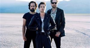 The Killers: the popular US band are playing their largest Irish headline show to date