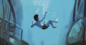 Cymbeline Igloo, the hero of Boy Underwater by Adam Baron is  marked out by his classmates for being different.