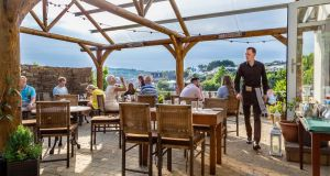 A new outdoor dining terrace has opened at Man Friday in Kinsale