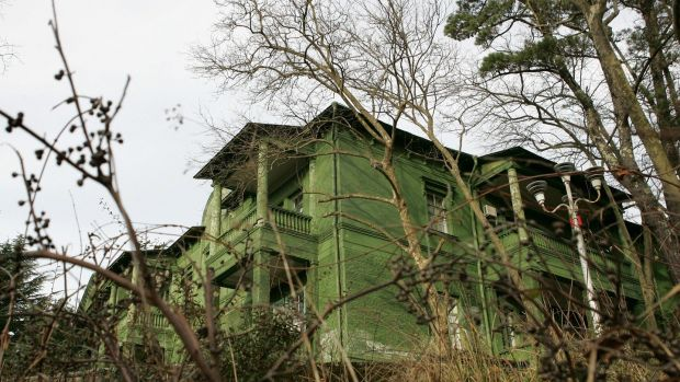 Stalin's dacha in the lushly forested hills of Sochi. Photograph: Getty Images