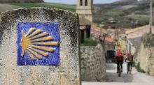 The Camino de Santiago appeared in today's Junior Cert Spanish exan. Photo: iStock