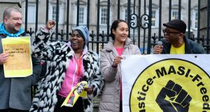 About 3,000 people  face a wait of about a year and a half for a decision on their asylum claim. Photograph: Cyril Byrne / The Irish Times