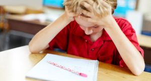 The report recommends the urgent establishment of a nationwide primary schools' counselling service. Photograph: Istock