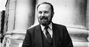 "David Norris at the Supreme Court in 1983: ""It has been my privilege to have been part of a social and human rights movement from inception to successful conclusion."" Photograph: Peter Thursfield"