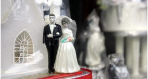 Sham marriages: the vast majority have been between Asian men and Eastern European women. They have been arranged, at a fee of up to €20,000 each, so men could secure the right to live and work in Ireland. Photograph: Bryan O'Brien