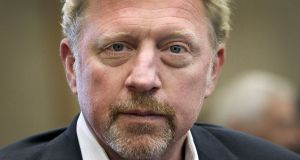 Former German tennis player Boris Becker: role with Central African Republic  as a sports envoy may protect him from bankruptcy proceedings in London. Photograph: Daniel Roland/AFP/Getty