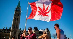 As the first major economy to fully legalise cannabis, Canada's regulatory rollout will be closely watched by other nations considering the same path. File photograph: Chris Roussakis/AFP/Getty Images