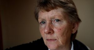 Catherine Corless follows the harrowing history of Julia Devaney, confined in Tuam Mother and Baby Home for most of her life.   Photograph:  Reuters/Peter Nicholls