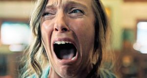 Toni Collette in Hereditary: its Grid of Shame confirms there is no drug use and sex/nudity is only Mild