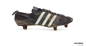 The Adidas football boot designed in 1953.