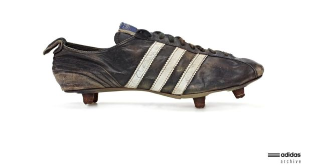 e9c4a12ad93b The Adidas football boot designed in 1953.