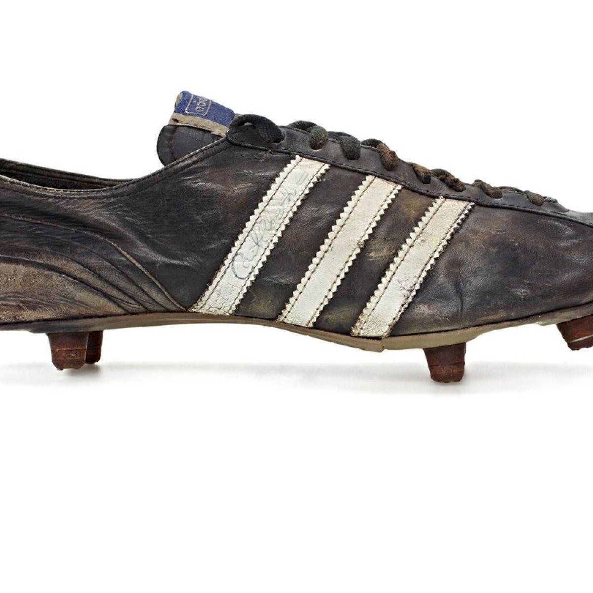 Design Moment: Adidas football boot, 1953