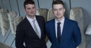 "Bitcove founders James and Peter Nagle: they are particularly aggrieved  given  the company was previously awarded a Bank of Ireland-sponsored ""best business start-up"" award"