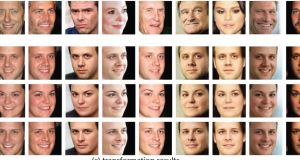 With new technology from Microsoft Research you could take  take a picture of someone scowling and transform it into a completely convincing version with a beaming smile.