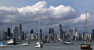 A view of Panama City, Panama. Photograph: EPA