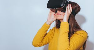 Virtual reality appeared in today's Junior Cert technology exam. Photo: iStock