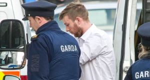 Paul Horgan (27) who has been jailed for life for the murder of his mother in Cork. Photograph: Daragh Mc Sweeney