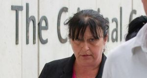 Paula Farrell at the Central Criminal Court in June  2015.  Photograph: Collins Courts