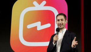 Kevin Systrom, CEO and co-founder of Instagram: Facebook's Instagram app is loosening its restraints on video with a new channel that will attempt to lure younger viewers away from Google's YouTube and pave the way to sell more advertising. Photograph: Jeff Chiu